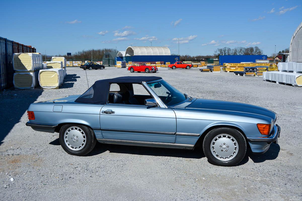 Mercedes-Benz 300 SL 1985 | Pagoda Classics I 42.000 | 1200 x 800 jpeg 239kB